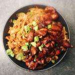 Nasi Goreng met pittige kip